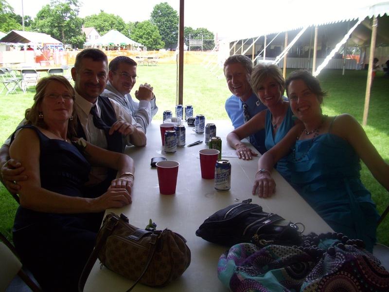 The Thelen-Klein wedding party